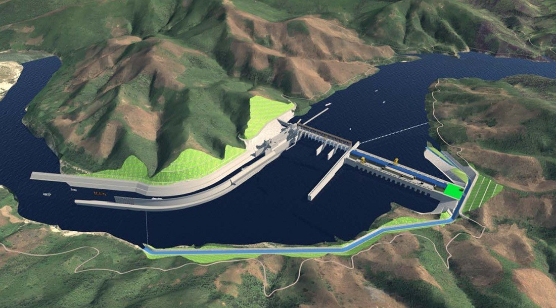 Proposed Pak Beng Hydropower dam in Laos (Credit: Pak Beng Hydropower Project )