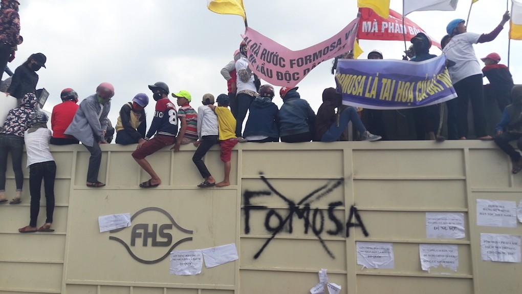 Protesting Formosa Ha Tinh