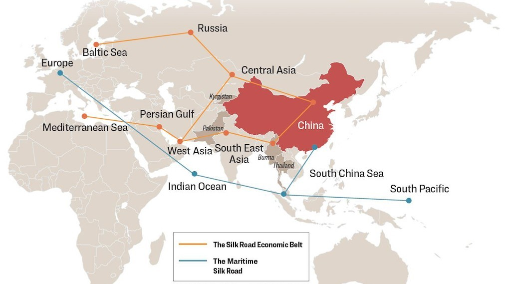 Silk Road Map, The Epoch Times